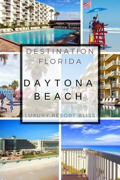 Hotel Resort Daytona Beach Florida 5 Star Resorts, All Inclusive Resorts, Beach Resorts, Luxury Resorts, Daytona Beach Florida, South Florida, Family Resorts In Florida, Hotel Hacks, Inclusive Holidays
