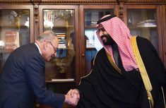 https://flic.kr/p/24howmN | Saudi Crown Prince Day 1 Vision 2030 Tour | Saudi Crown Prince MBS on his first day of a two week tour of the USA starting in Washington