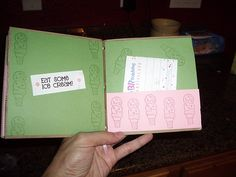 """Create a gift card book for teacher. """"What will Mrs. So and So do this summer?"""" Inside ideas: Eat ice cream ($5 gift card to Baskin Robbins), Read a book (bookstore giftcard), etc."""