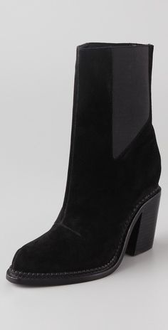 Theyskens' Theory Taylor Suede Booties