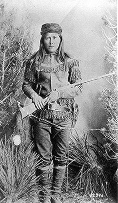 Tsoe (aka Peaches) - White Mountain Apache - 1885