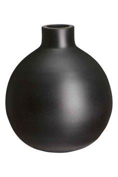 Ronde glazen vaas | H&M