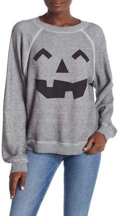 b2acbbccdcd Wildfox Couture I'm a Pumpkin Sommers Sweatshirt Píos, Sudadera Estampada,  Calabaza
