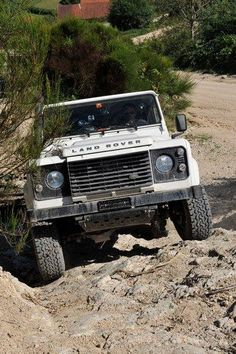 Anyone can drive on the road.... I drive where I want.....Land Rover Defender