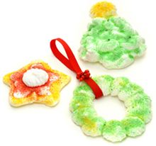 Meringue Ornaments  Use Your Imagination to Create Delicate, Light-As-A-Feather Ornaments to Hang or Nibble!