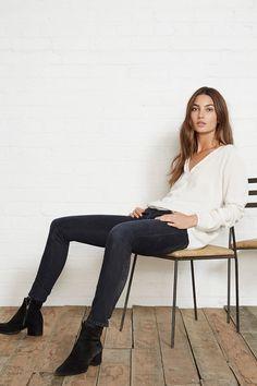 Picture of Lily Aldridge Fashion Mode, Minimal Fashion, Look Fashion, Autumn Fashion, Fashion Outfits, Timeless Fashion, Fashion Beauty, Lily Aldridge, Looks Street Style