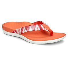 1e186d93f1a0 Vionic with Orthaheel Technology Womens Tide Sequins (affiliate) Orthopedic Flip  Flops