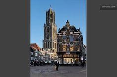 Old city centre in Utrecht