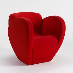 Lot 138: Ron Arad. armchair. 1994, upholstery over foam. 29 w x 33 d x 30 h in. result: $600. estimate: $1,000–1,500. Signed with fabric manufacturer's label to underside.