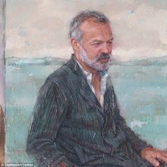 Just hanging out: The painting is set to be displayed at Ireland's National Portrait Galle...