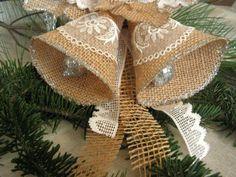 adorno de navidad bricolaje, campanas de navidad                                                                                                                                                     Más