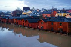 Surviving Europe: 5 Days Discovering the Best of Helsinki in the Winter - Porvoo Red Houses