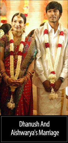 Dhanush Tamil Actor Marriage Photos Wife Name Pictures Album Celebrity Couples, Celebrity Weddings, Indian Groom Dress, Indian Wear, Hipster Haircuts For Men, Wedding Stills, Bengali Wedding, Name Pictures, Actor Picture