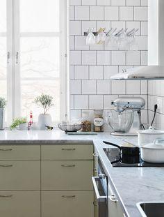 Svensgården Kitchen in mint