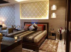 Master Bedrooms Luxury Interior Design by upasana saini Small Office Design, Traditional Bedroom, Luxury Interior Design, Luxurious Bedrooms, Luxury Living, Master Bedrooms, Bedroom Designs, Bed Room, Modern