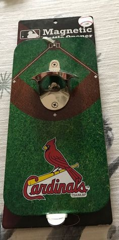 St Louis Cardinals Heavy Duty Magnetic Bottle Opener Licensed Product NWT Cool #StLouisCardinals