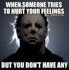 20 Creepy Horror Movie Memes - Memes World Creepiest Horror Movies, Horror Movies Funny, Horror Movie Characters, Scary Movies, Scary Movie Memes, Halloween Movies, Halloween Horror, Funny Halloween Memes, Creepy Halloween