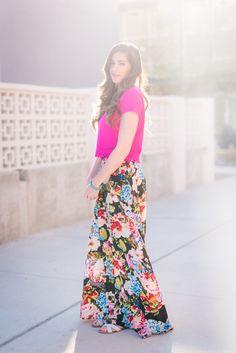 mumu maxi skirt - By, Hilary Rose