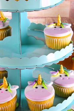 Cupcakes de Unicornio