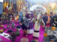 Ofrenda de Muertos Museo Anahualcalli, México. La catrina