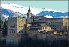 La Alhambra  y Palacio de Carlos V - photo F. Nestares