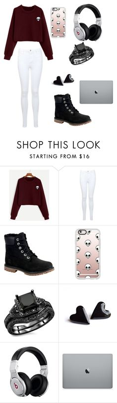 """""""Untitled #50"""" by amariswright2001 ❤ liked on Polyvore featuring Miss Selfridge, Timberland, Casetify and Beats by Dr. Dre"""