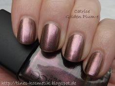 Catrice Golden Plum-e (Feathered Fall LE) Nail Polishes, Manicure, Nails, Golden Plum, Sally Hansen, Essie, Nail Bar, Finger Nails, Ongles