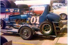 Dirt Racing, Auto Racing, Old Race Cars, Sprint Cars, Vintage Race Car, Dirt Track, Car Stuff, Oklahoma, Trailers