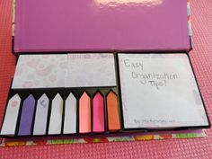 Easy Organization: Tips and Tricks