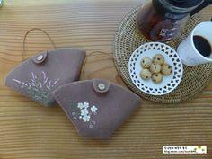 5번째 이미지 Coffee Filter Holder, Sunglasses Case, Embroidery, Blog, Felting, Needlepoint, Cute, Blogging, Crewel Embroidery