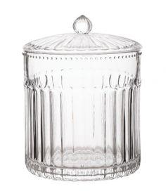 Słoik szklany z pokrywką Shabby Chic, Ornament, Jar, Home Decor, Porcelain Ceramics, Decoration, Decoration Home, Room Decor, Jars