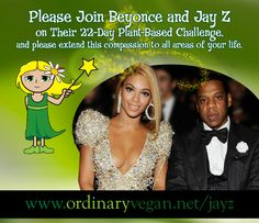 Join Jay Z and Beyonce For Their 22-Day Plant-Based Challenge With This Easy How To Guide  http://www.ordinaryvegan.net/jayz/