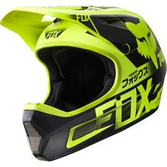 Fox Rampage Comp Full Face Helmet for DH, MTB, Freeride, BMX