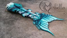 Full Silicone Mermaid Tail by Merbella Studios Inc.