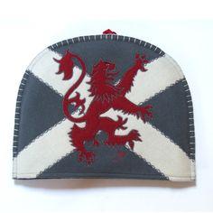 Scottish Lion Tea Cosy from Jan Constantine