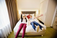 And the best beds in town :-) Vienna Hotel, Cool Beds, Bean Bag Chair, Rooms, Fun, Furniture, Home Decor, Bedrooms, Homemade Home Decor