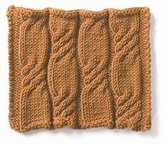 Knitting: Cable: Bonbons