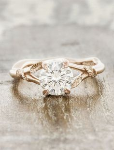 Our Favorite Engagement Rings by Ken & Dana Design