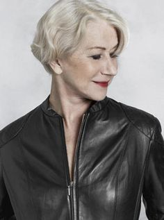 Helen Mirren - one of our finest actors, ever. She is talented, funny, sexy, and brilliant at any age.