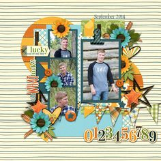 A year in review - March template pack by Tinci Designs http://store.gingerscraps.net/A-year-in-review-March.html