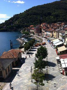 Cannobio promenade