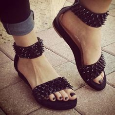 #shoes #spikes #style #design