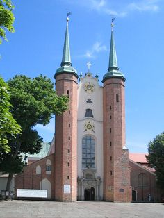 Oliwa Cathedral, Gdynia Poland July 2012,  Has a 7,800 pipe organ. So beautiful inside. Loved it!
