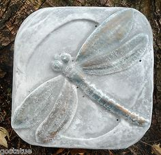 plaster concrete abs plastic dragonfly stepping stone mold  L@@K 5000 more molds