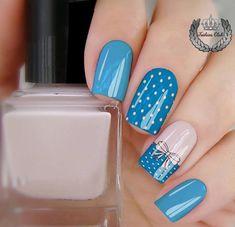Navy Nail Art, Navy Nails, Acrylic Nail Designs, Nail Art Designs, Acrylic Nails, Stylish Nails, Trendy Nails, Pretty Nail Art, Fabulous Nails