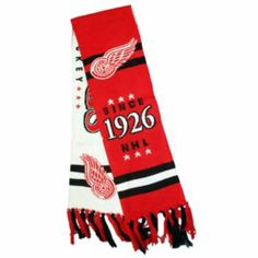 Detroit Red Wings NHL Rowley Adult Scarf - Men Detroit Red Wings eb386c86cb28