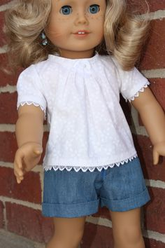 American girl clothes 18 inch doll clothes by GrandmasDollCloset