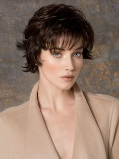 Short Haircuts For Fine Hair - Square Face