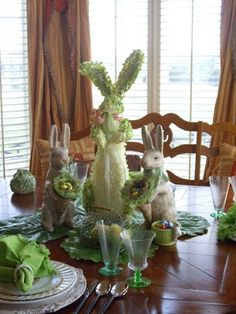 For this week's Tablescape Thursday , I started with the basic St. Patrick's Day theme , which has been there for a while, and did a littl...