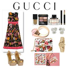 """""""Presenting the Gucci Garden Exclusive Collection: Contest Entry"""" by funbts ❤ liked on Polyvore featuring Gucci and gucci"""